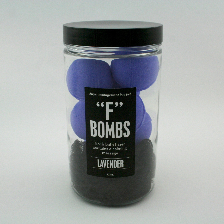 Jar Of F Bombs 8 Mini Bath Bombs Bath Fizzers By Dabombfizzers