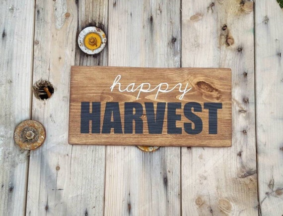 Harvest Decor Fall Decor Pallet sign Wooden by CountryPallets