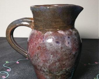 Hand Made Ceramic Pitcher