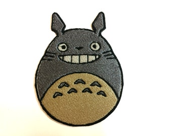 Totoro Iron on Embroidered Patch - My Neighbor Totoro