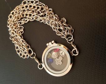 Living locket bracelet