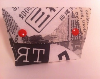 Mini wallet simple  / Business card holder/ coin purse