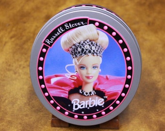NEW, but Vintage. Barbie Tins by Russell Stover. New tin for the Barbie Doll Fan or Collector