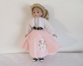 """Vintage 1950's Porcelain Doll """"Sandi"""" by Keepsake Porcelain Dolls"""