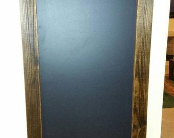 Rustic Framed Chalk Board
