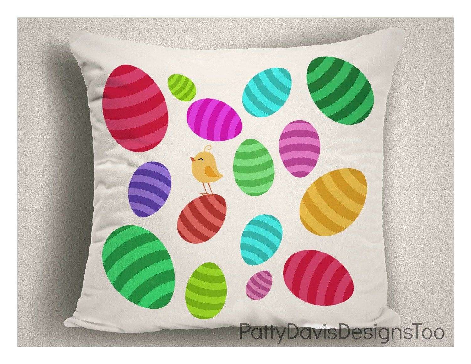 Easter Throw Pillow Covers : Easter Pillow Pillow Covers Easter Decoration Easter Decor