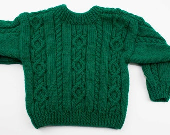 Child's Saddle Shoulder Sweater