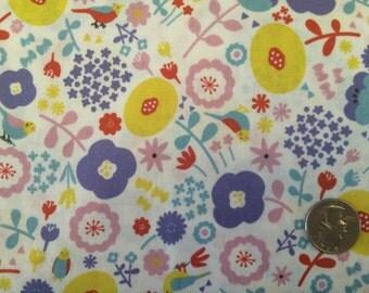 Flower Multi Fabric Japanese Import