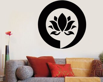 Wall Art Mural Enso Lotus Meditation Relaxation Relax Zen Decor 1289dz