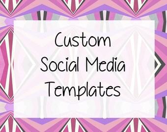 Custom Social Media Template