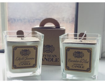 Natural Soybean Scented Jar Candles