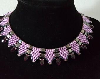 Crystal handmade Beaded Necklace