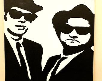 Blues Brothers Pop Art