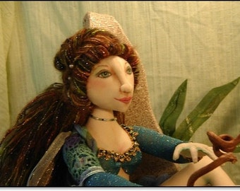The Sea Witch, Art Doll