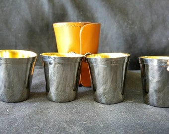 Absolutely stunning set of stirrup cups