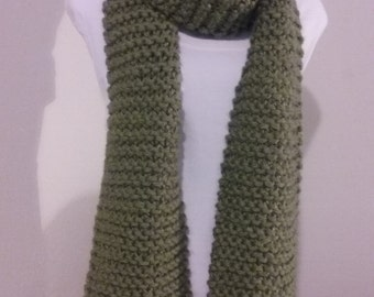 Knitted Scarf, neckwarmer, Wrap around, Ready to ship!