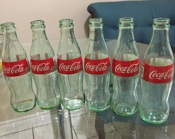 6 Coca Cola Bottles - Holiday 2014