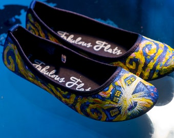 Ballet Flats - Dr Who Tardis