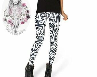Pretty leggings - S to XXXXL