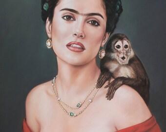 Portrait of Salma Hayek