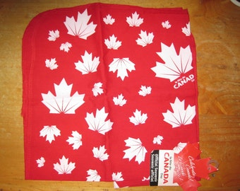 CANADA DAY Canadian Maple Leaf Bandana/ Bar RAG