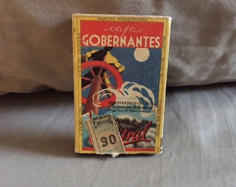 Vintage Mexican Match Box