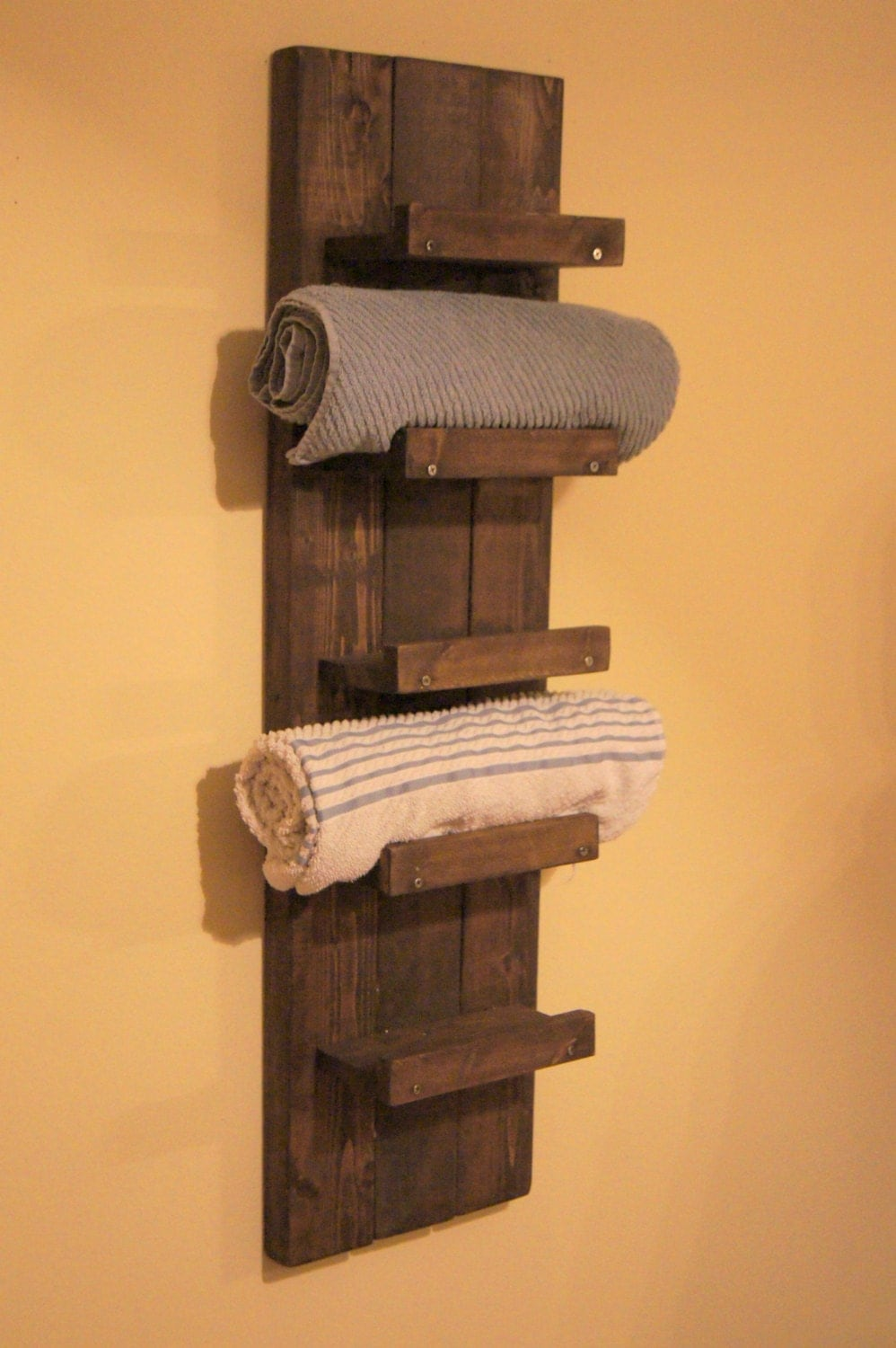 Towel rack bathroom towel shelf bathroom towel by for Bathroom towel racks