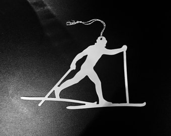 Cross Country Skiier is available in male and female versions