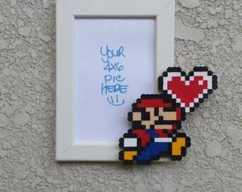 Mario Picture Frame-Mario Birthday-Supermario-Video games-Nintendo-Birthday Gifts