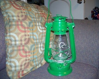 Green duck head lantern