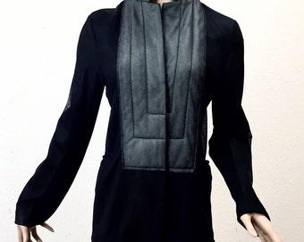 Jil Sander, avant garde mesh blazer