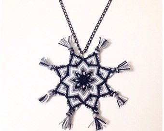 Mandala necklace in different colours