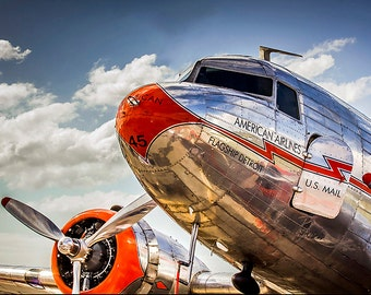 American Airlines DC-3 Nose Magnet