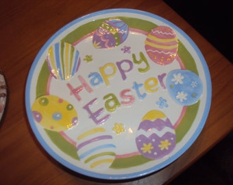 8 Inch Easter Serving Plate