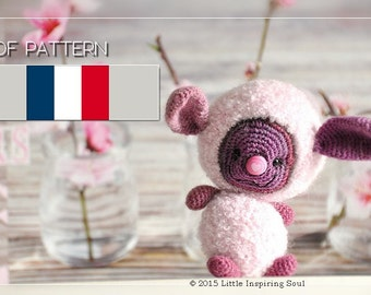 Lucky floffy pdf crochet pattern amigurumi french