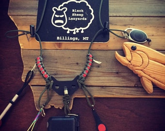 The Dropper Fly Box Lanyard