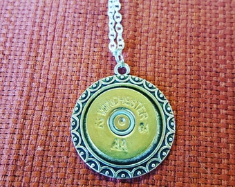 12 gauge shell necklace