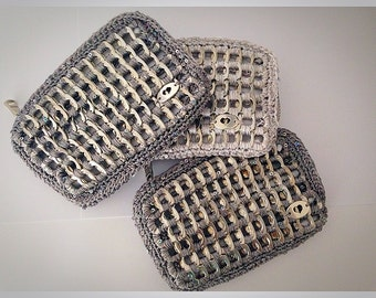 Tabs from cans wallet pop tabs