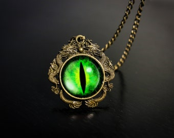 Dragon Eyes - Green