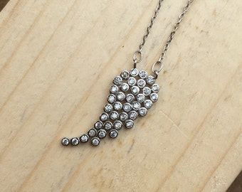 Single Wing Necklace 925 / Sterling Silver