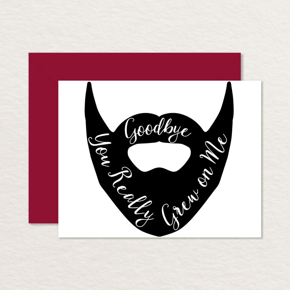 It's just a photo of Impertinent Printable Goodbye Cards