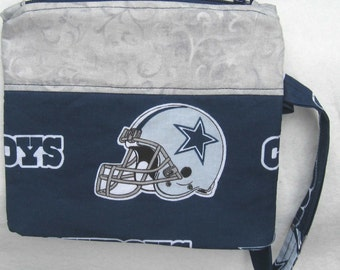Dallas Cowboys NFL Football Wristlet Custom Made Embroidered