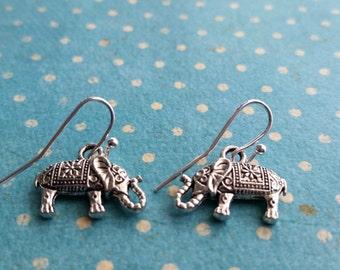 Silver Elephant Drops