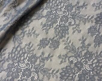 gray dress fabric etsy