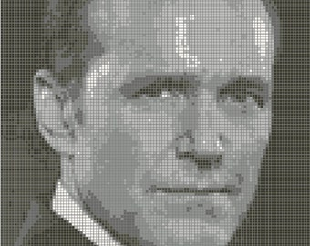 Agent Coulson Cross Stitch Pattern
