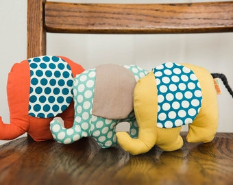 Elephant baby Rattles boy