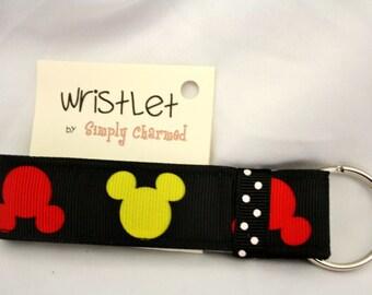 Micky Mouse Wriste Keychain