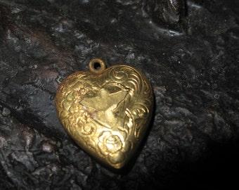 Brass Heart Locket