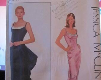 BOSS SIMPLICITY 8918 evening dress, prom dress