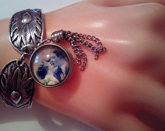Romantiс Kissing Lovers fits Any Jewelry Bracelet Necklace Snap Ginger Popper Button 18 mm